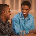 Abdisamad Adan (left) attends Harvard and Mubarik Mohamoud is enrolled at MIT.