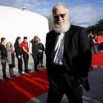 Boston, MA - 5/7/2017 - Comedian David Letterman walks the red carpet as he arrives for the annual John F. Kennedy Profile in Courage Award at the the John F. Kennedy Presidential Library and Museum in Boston, MA, May 7, 2017. Former U.S. President Barack Obama was the recipient of the award. (Keith Bedford/Globe Staff)