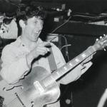 Jonathan Richman performed at Jonathan Swift's in Harvard Square in 1984.