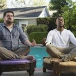 "Bobby Moynihan (left) and Jaleel White in CBS's ""Me, Myself & I,"" one of many new shows on the fall TV schedule."