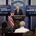 Budget Director Mick Mulvaney speaks to the media about President Donald Trump's proposed fiscal 2018 federal budget in the Press Briefing Room of the White House in Washington, Tuesday, May 23, 2017. (AP Photo/Andrew Harnik)