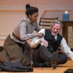 "Condola Rashad (left) and Chris Cooper in ""A Doll's House, Part 2."""
