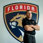 JUNE 15, 2017--SUNRISE, FLORIDA Shawn Thornton, a former Boston Bruins player known as the team's enforcer, is now the Florida Panthers VP for business operations. (Angel Valentin for the Boston Globe)