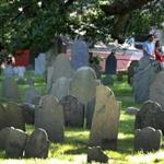 Salem, MA: June 21, 2017: Salem's oldest cemetery, the Charter Street Burial Ground is getting a facelift. (Globe Staff Photo/ Jim Davis)