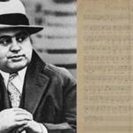 Al Capone's handwritten musical composition titled