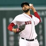 Boston MA 07/16/17 Boston Red Sox starting pitcher David Price delivers a pitch against the New York Yankees during first inning action at Fenway Park. (Matthew J. Lee/Globe staff) topic: reporter: