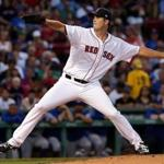 Boston, MA - 7/19/2017 - (3rd inning) Boston Red Sox starting pitcher Drew Pomeranz (31) pitching during the third inning. The Boston Red Sox host the Toronto Blue Jays in the third of a four game series at Fenway Park. - (Barry Chin/Globe Staff), Section: Sports, Reporter: Peter Abraham, Topic: 20Red Sox-Blue Jays, LOID: 8.3.3111344824.