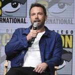 Ben Affleck at Comic-Con in San Diego on Saturday.
