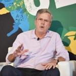 Jeb Bush, the former Florida governor, spoke onstage Saturday during the Ozy Fest in New York.