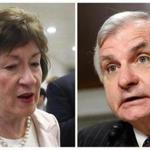 Senators Susan Collins and Jack Reed