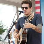 John Mayer at the Mix Beach House concert.