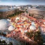 A rendering of 2017's HUBweek.