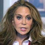 In this May 7, 2015 file photo, Pamela Geller speaks during an interview at The Associated Press in New York. A trial is set to begin on Wednesday, Sept. 20, 2017, in federal court in Boston for David Wright of Everett, Mass., accused of participating in a 2015 plot for the Islamic State group to behead Geller, a conservative blogger. The plot was never carried out.