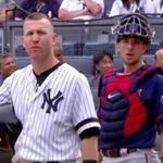 A young girl at Yankee Stadium was injured by a 105-m.p.h. foul ball off the bat of Todd Frazier during Wednesday's game against Minnesota, leading some players to call for protective netting to be extended.