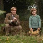 "Domhnall Gleeson and Will Tilston in ""Goodbye Christopher Robin."""