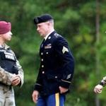 Sergeant Bowe Bergdahl was escorted to the Fort Bragg military courthouse, where he pleaded guilty to desertion.