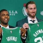The trade for Kyrie Irving following the signing of Gordon Hayward shaped the Celtics for the 2017-18 season.