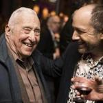 Legendary jazz impresario Fred Taylor (left) and City Winery CEO Michael Dorf.
