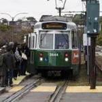 One of the projects approved by the MBTA control board was the finalization of the plan to extend Green Line trolley service to Somerville.