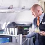 JetBlue's Mint passengers get extra-long lie-flat seats with massage functions, artisanal, small plate menu options from well-known restaurants, top-drawer spirits and wines, and one of the largest libraries of free in-flight entertainment.