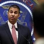 Federal Communications Commission chairman Ajit Pai spoke with the media last week.