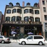 Historic beer hall Jacob Wirth Co. in Boston.