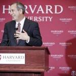 Lawrence S. Bacow, the former president of Tufts University, was named Harvard University's next leader last week.