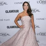 (FILES) In this file photo taken on November 13, 2017 Olympic gymnast Aly Raisman attends Glamour's 2017 Women of The Year Awards in Brooklyn, New York. Raisman has appeared in the Sports Illustrated Swimsuit Issue for the second-straight year, only this time she is doing it with an empowering message of survival. Raisman, who is dedicating her time to fighting sexual abuse, is shown posing with the words