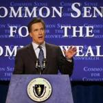 Mitt Romney while he was governor of Massachusetts in 2003.