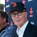 Fort Myers, FL 2/19/2018: Red Sox owners John Henry (right) and Tom Werner (left) took questions from the media this morning. The first full squad workout of Spring Training for the Red Sox was today at the Player Development Complex at Jet Blue Park. (Jim Davis/Globe Staff)