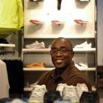 Trevor Edwards, a former vice president of brand management for Nike, at the Niketown store in Manhattan, Oct. 2, 2007.