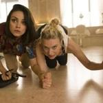 "Mila Kunis (left) and Kate McKinnon in a scene from ""The Spy Who Dumped Me."""