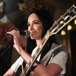 LONDON, ENGLAND - MARCH 08: Country singer Kacey Musgraves performs for her Spotify Premium fans at London's historic Spencer House on March 8, 2018 in London, England. (Photo by Chris J Ratcliffe/Getty Images for Spotify)