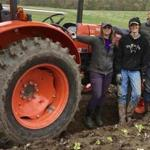The summer crew at Chestnut Hill Farm in Southborough does everything from riding tractors to packing vegetables.