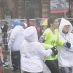 Immediately after they crossed the finish line, many Boston Marathon runners had to seek help from the medical tents.