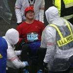 Runners crossed the Boston Marathon finish line Monday afternoon limping, shivering, grimacing, and even weeping, looking like they had survived a tremendous physical ordeal — and, of course, they had.