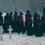 "A scene from the second season of ""The Handmaid's Tale"" on Hulu."