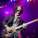 Joe Perry at the House of Blues Wednesday.