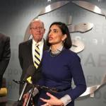 The administrator of Medicare and Medicaid Services, Seema Verma, during a recent visit to Nashville.