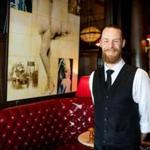 Damon Lequin is a server at Eastern Standard in Kenmore Square.