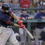 Boston Red Sox's Xander Bogaerts hits a three-run home run during the third inning of a baseball game against the Seattle Mariners, Friday, June 15, 2018, in Seattle. (AP Photo/Ted S. Warren)