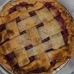 A cherry pie from Drive-By Pies.