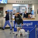 Stricter dispensing rules have been implemented at Angell Animal Medical Center's pharmacy.