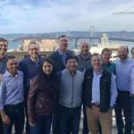 The investment team of Bain Capital Ventures met in San Francisco.