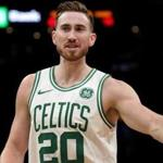 Boston, MA - 11/30/2018 - (4th quarter) Boston Celtics forward Gordon Hayward (20) questions an offensive foul called on him during the fourth quarter. The Boston Celtics host the Cleveland Cavaliers at TD Garden. - (Barry Chin/Globe Staff), Section: Sports, Reporter: Adam Himmelsbach, Topic: 01Celtics-Cavaliers, LOID: 8.4.3975933757.