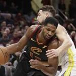 Tristan Thompson is one of the only holdovers from the Cavaliers' run of four straight trips to the NBA Finals.