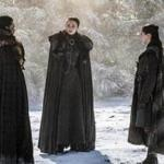 "The Stark siblings in a scene from ""Game of Thrones."""