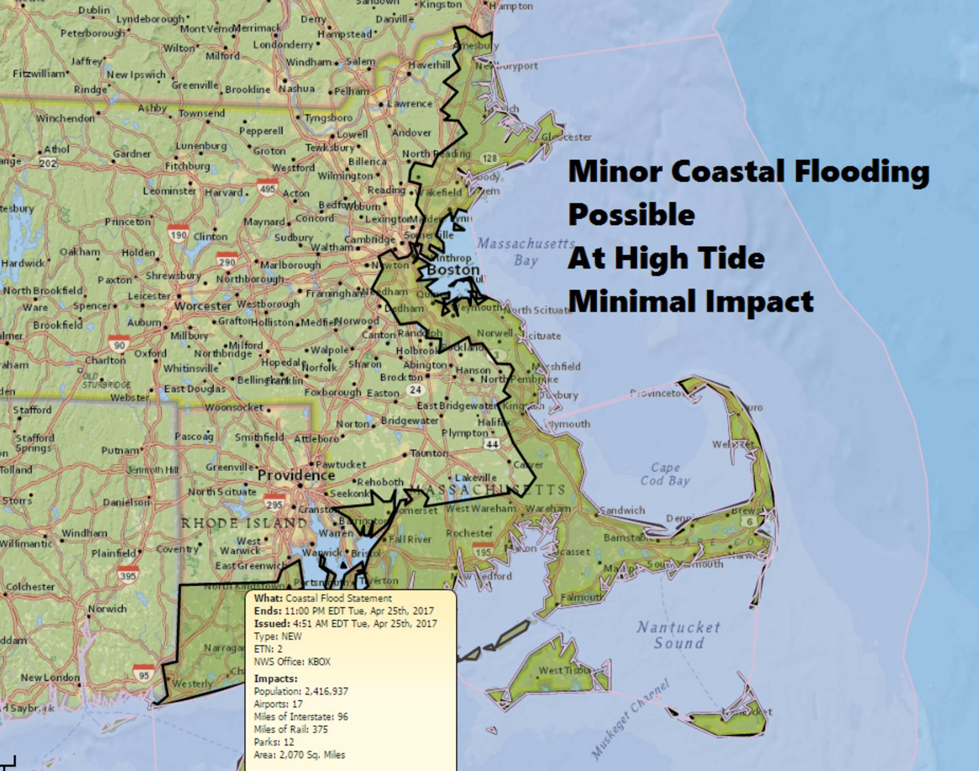 Incoming Noreaster May Bring Less Rain Than Initially Predicted - Us weather map 2 25 2017