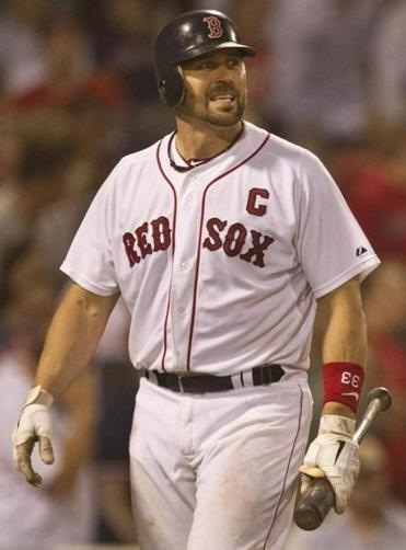 Ex-Red Sox catcher Jason Varitek was twice drafted in the first round.