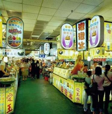 The Shilin Night Market includes over 500 food stalls.